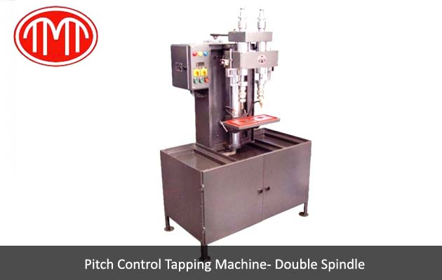 Pitch Control Tapping Machine Double Spindle